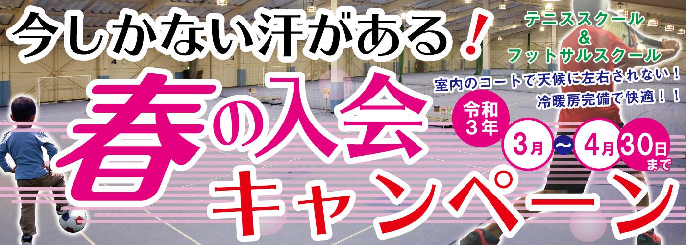 春入会キャンペーンバナー (1400x500)-1